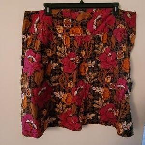 Fashion Bug Multi Color Skirt